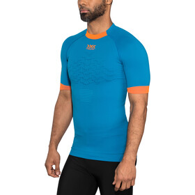 X-Bionic The Trick G2 T-shirt de running Homme, teal blue/dark ruby